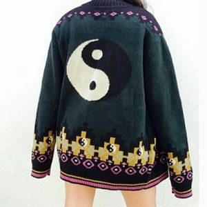 Yin & Yang Sweater Cardigan